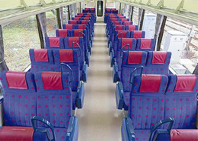 通勤電車に座席指定制
