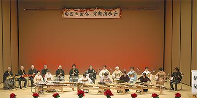 伝統音楽で観客魅了