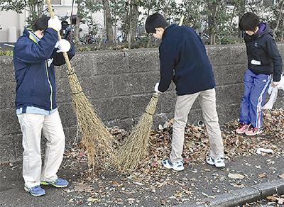 住民と地域清掃