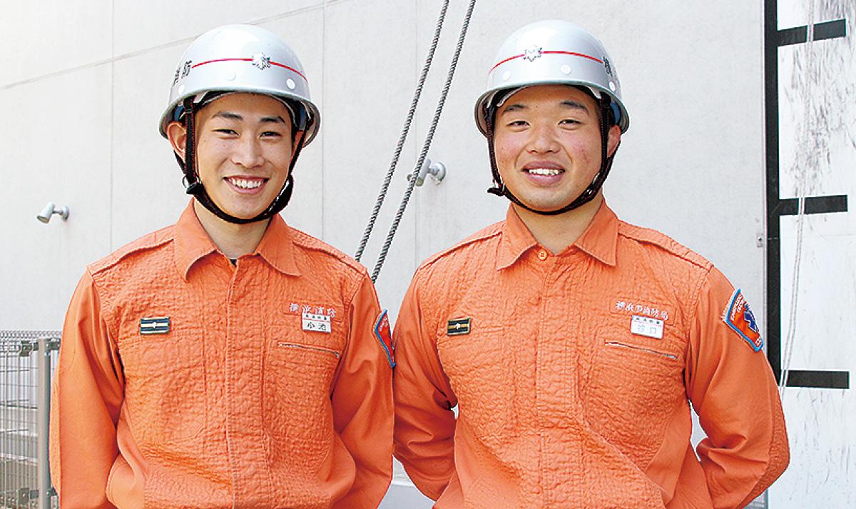 若手職員 救助訓練県大会へ