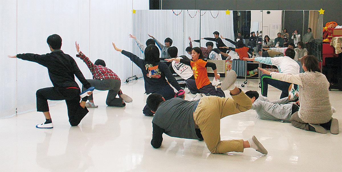障害児のダンス教室