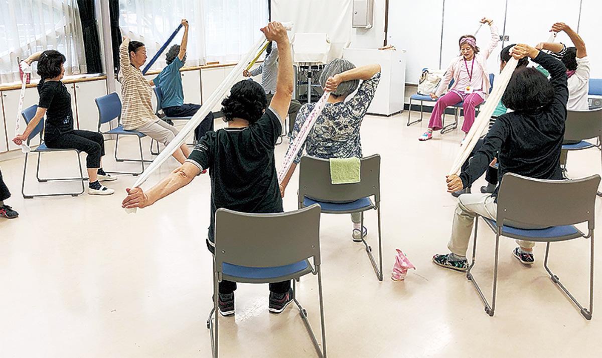 体幹を鍛えるロコトレ体操