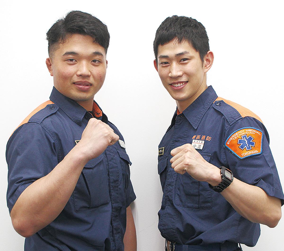 谷口さん(左)と小池さん