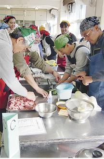 調理方法だけではなく、食材や栄養などについても一生懸命学んでいた