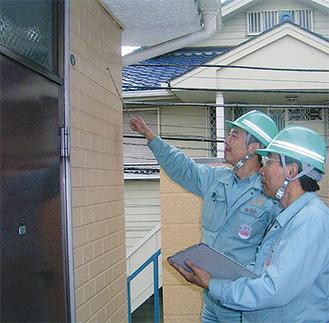 建物のプロが耐震度合いを診断してくれるほか、場合によっては市の診断を斡旋してくれる