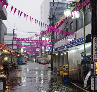 松原商店街の「LED街路灯」
