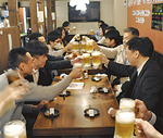 歓迎会にお薦めの飲み放題付宴会コースは2h 3500円から