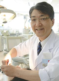 矯正歯科の不島教授