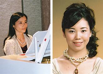 吉川弘子先生(左)や田中冴子先生(右)など教室の講師5人がレクチャーする