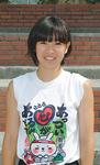 前田柚奈さん(西谷中・3年)女子100m