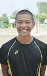 高橋智也さん(橘中学校・3年)男子100m・走り幅跳び