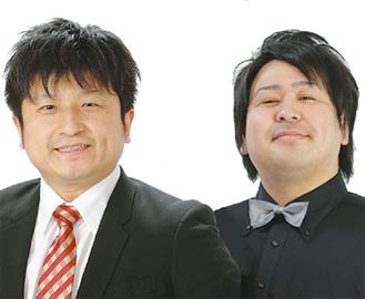 大谷(左)とぁみが出演
