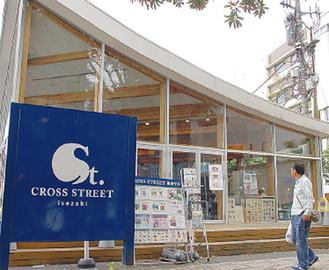 会場のクロスストリート