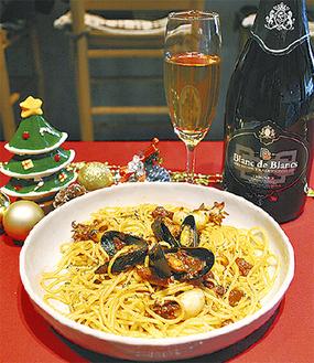 「とくべつなペスカトーレ」とヴィオニエ100%ワイン
