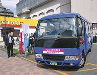 無料買い物バスを運行