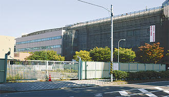 移転先となる神戸町の市有地