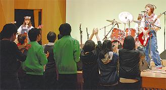 区の歌部門優勝のARINCO
