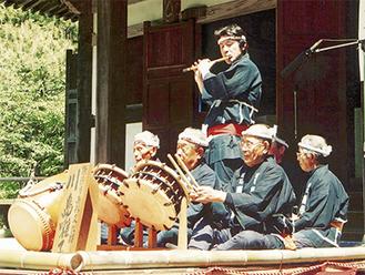250年を超える歴史を持つ川島囃子