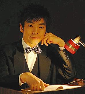 活弁士の坂本頼光氏