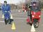 二輪車事故を防げ