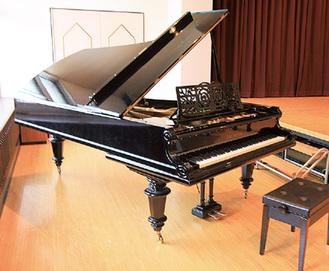 国大に受け継がれるピアノ