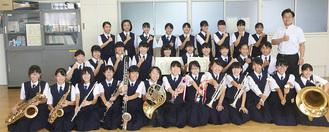 吹奏楽部のメンバー