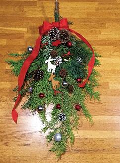 欧州でクリスマスの頃に作られる素朴な飾り