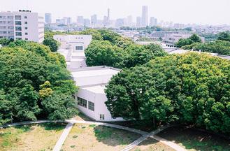 地域に開かれた緑豊かな横浜国大のキャンパス