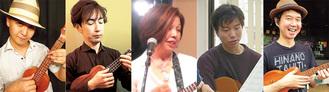 講師を務める左から長谷川賢氏、黒田亮介氏、小川尚子氏、福井浩気氏、伊藤雅昭氏