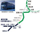 西谷から新宿まで724円