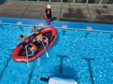水難救助訓練を実施