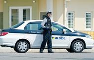 登校時に防犯パトロール
