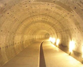 整備が進む雨水幹線(イメージ)