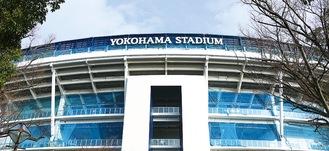 ソフトボールと野球の会場となる横浜スタジアム