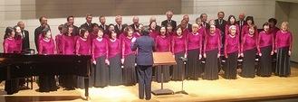 精力的に活動する合唱団