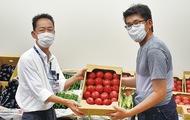 医療従事者へ感謝の野菜