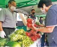地場野菜が人気