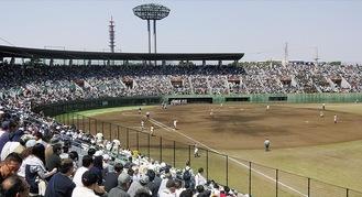 神奈川の高校野球の聖地とも呼ばれる保土ケ谷球場
