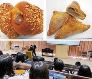 生徒考案のパン販売