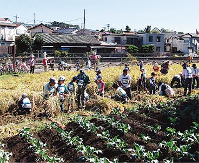 子ども達に農業体験を