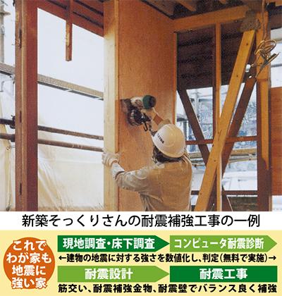 我が家を守る耐震リフォーム
