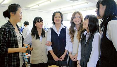 留学生と交流会