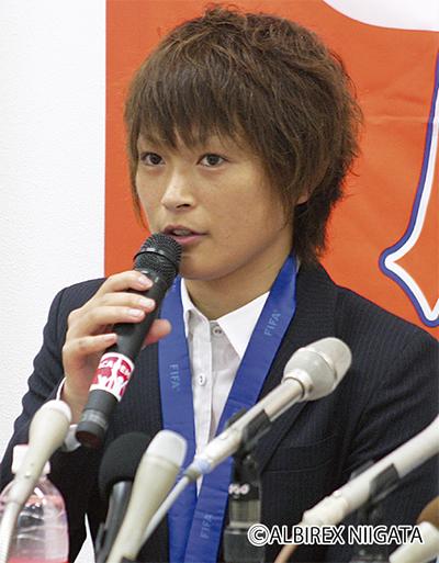 上尾野辺さんに栄誉賞