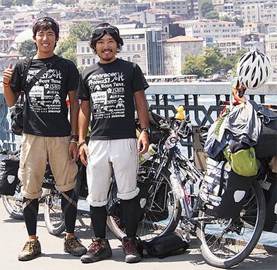 自転車で大陸横断