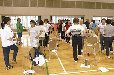 運動で介護予防