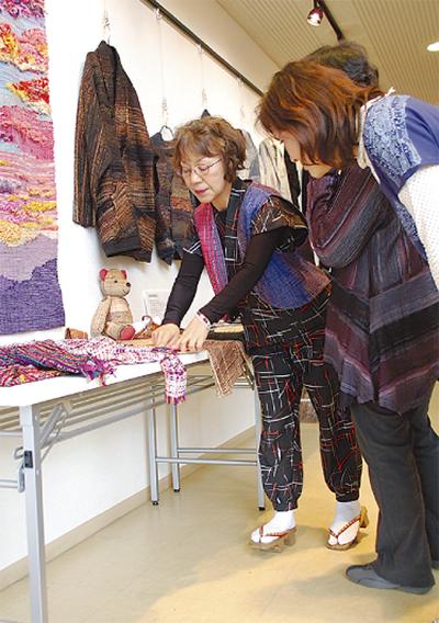 日本文化伝える作品展