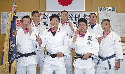 柔道で県警トップに
