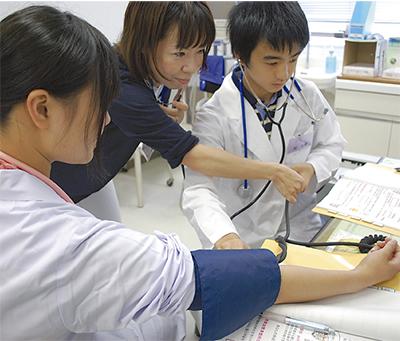 市民病院で職業体験