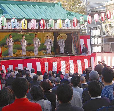 橘樹神社で「こども歌舞伎」