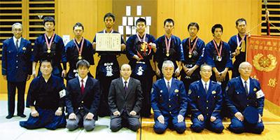 剣道大会で優勝